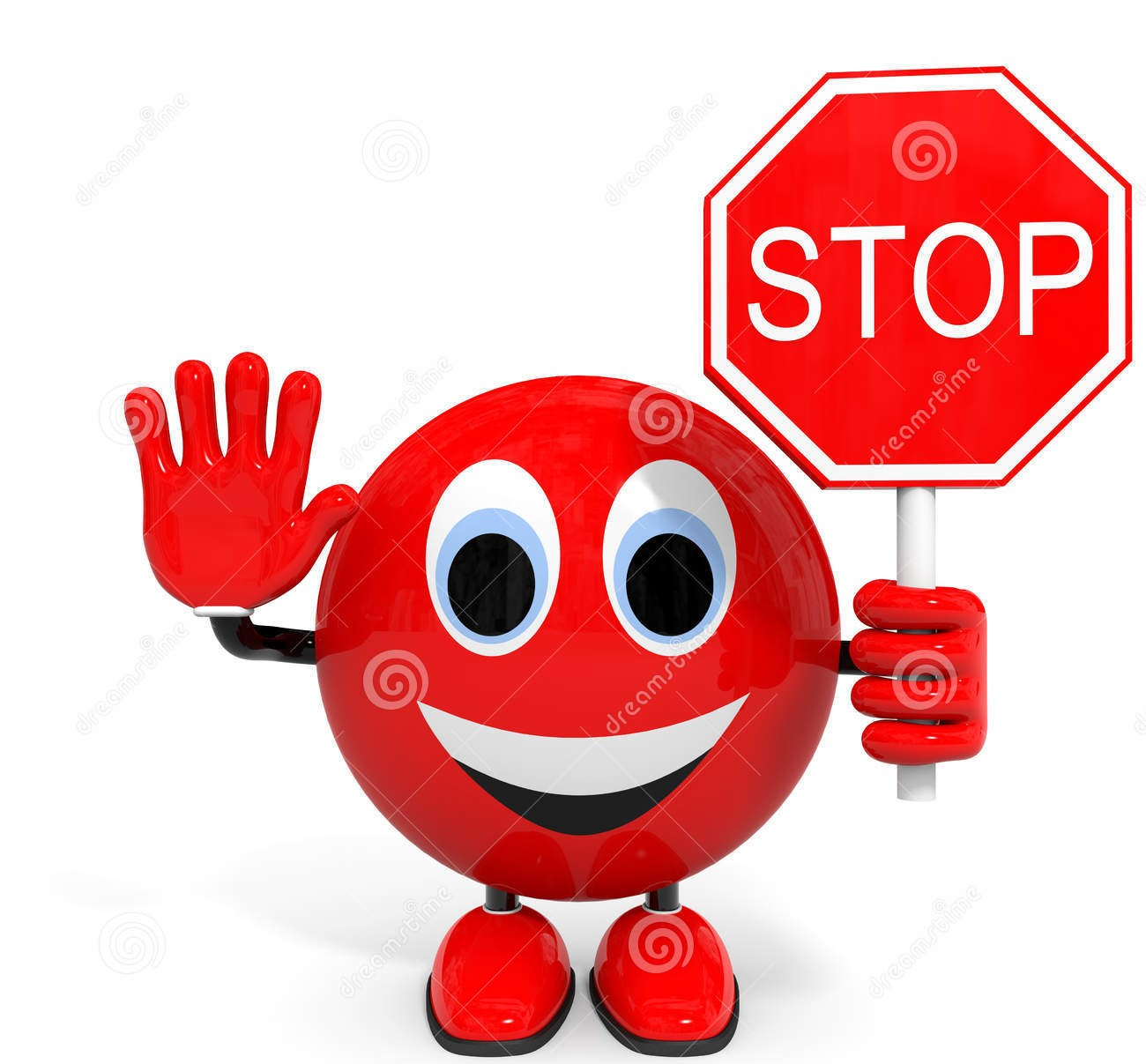 stop-illustration-d-character-90202881